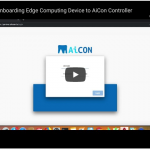 how to onboard IoT edge devices onto the AiKaan controller.